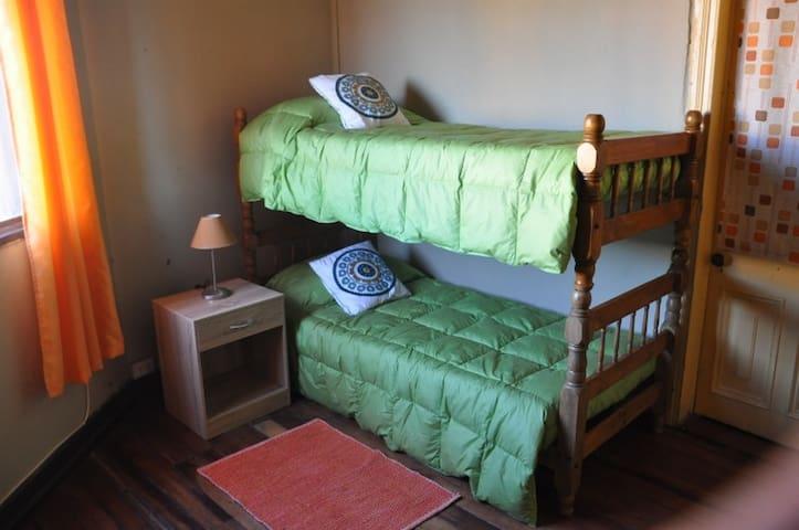 """Double Room Green """"Casa Valpo"""" in Pocuro"""