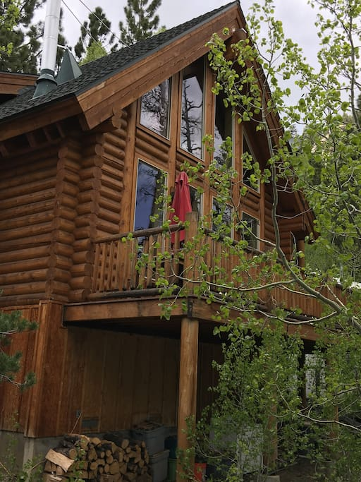 River Front Log Cabin Near Tahoe Cabins For Rent In