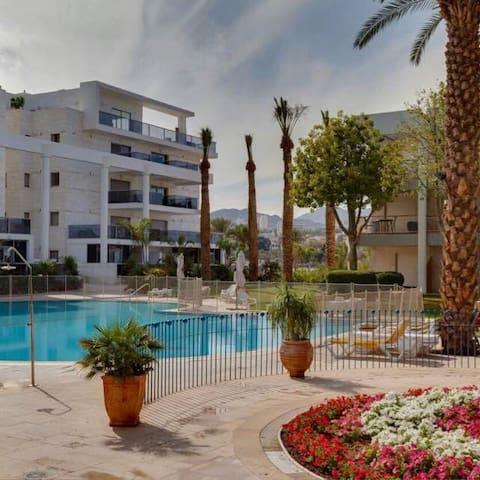 3P AU ROYALPARK A 100€/N - Eilat - Appartement