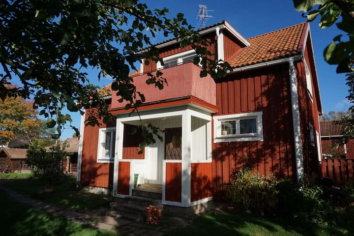 Hus i Leksand, Dalarna