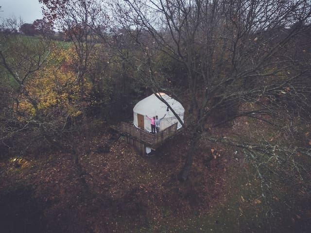 Romantic Yurt for 2 - Michaelchurch Escley