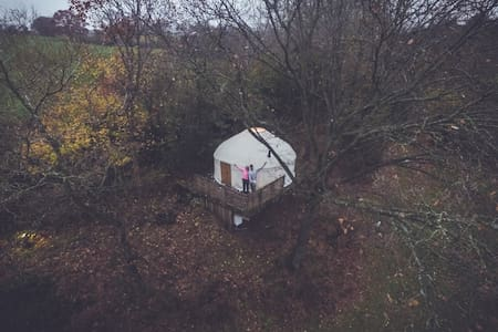 Romantic Yurt for 2
