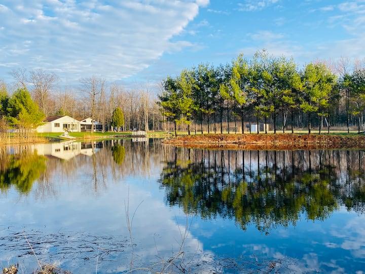 Leisure Lane-Northern Retreat close to Lake Huron