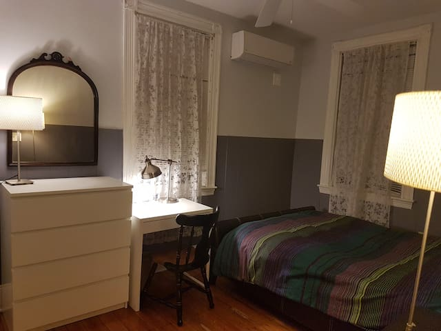 Authentic Boston, cozy room