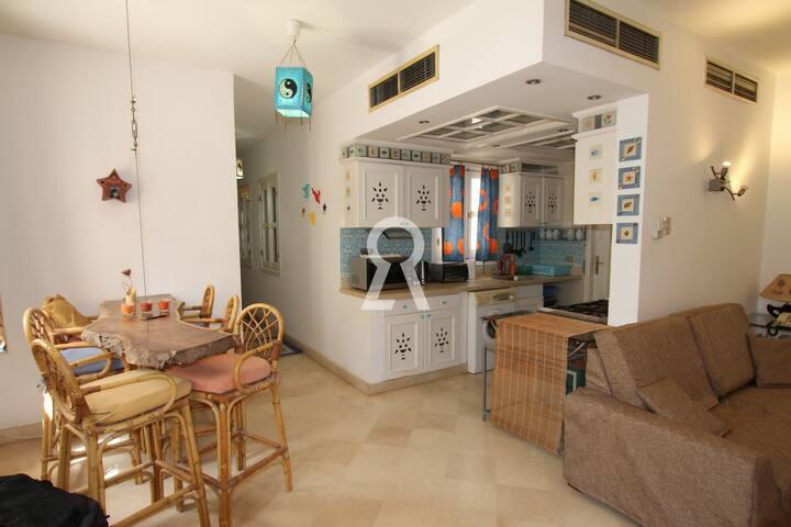 2 bedrooms in Abu Tig Marina El Gouna #GR018