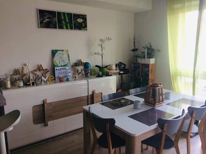Appartement T2 cosy près Bordeaux