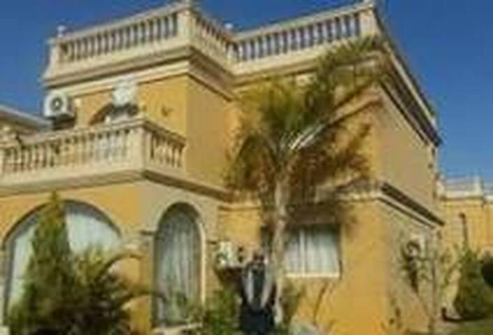 A villa in a gated community