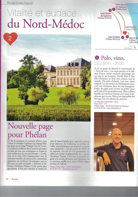 L'oenotourisme à Château Doyac