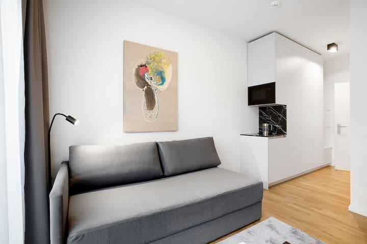 Fully furnished Studio in Mitte(Mikro)