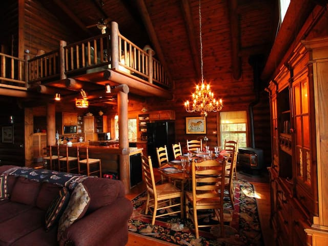 Log Home - Book by bedroom rates