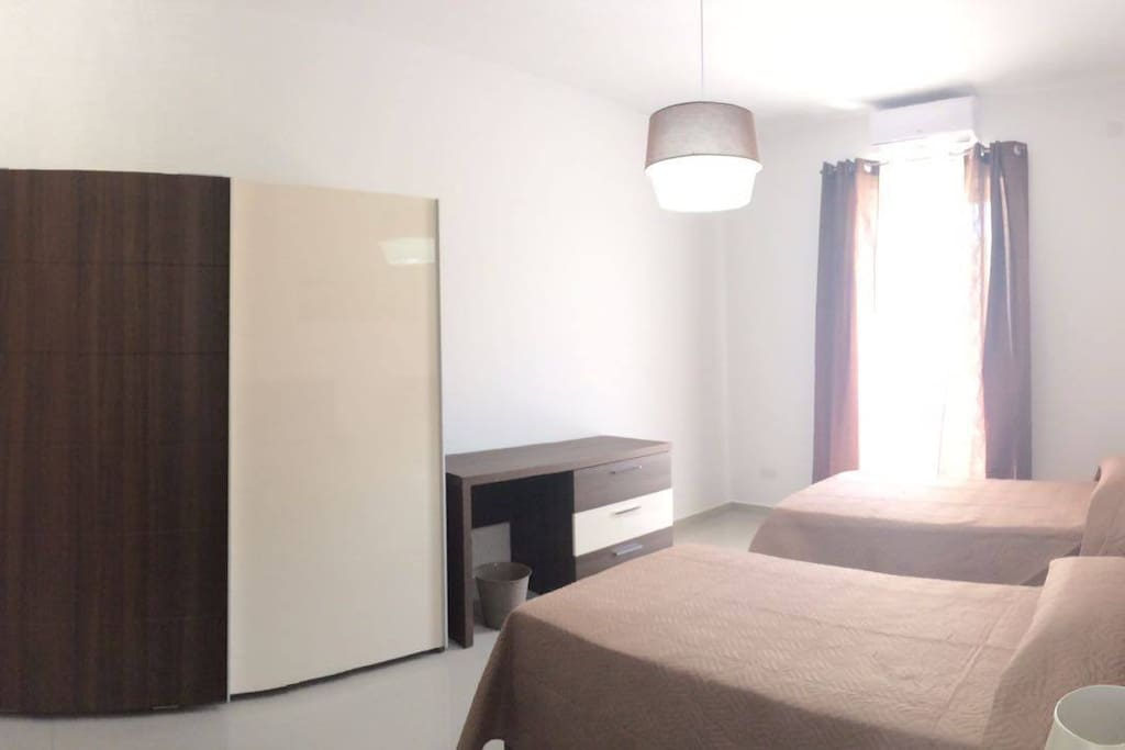 Main Bedroom with A/C and En suite