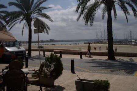 Apartamento tranquilo a 50 m playa (AC y wifi) - Palma