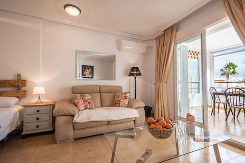Boutique naturist apartment. Indoor heated pool