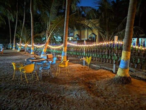 Baadal Pani - The Beach Cottage- Rooms
