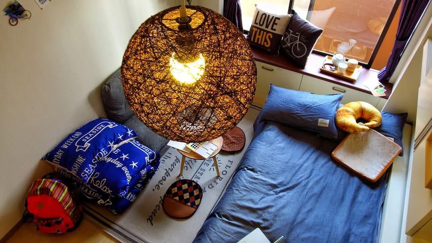 離車站二分鐘交通中樞,旺中帶靜,房間寬敞舒適WIFI設備,享高層夜景,罕有寬敞多用途大堂 - Yodogawa Ward, Osaka