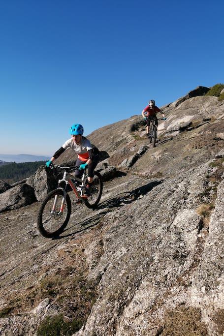 Ride Massive Granite Rocks