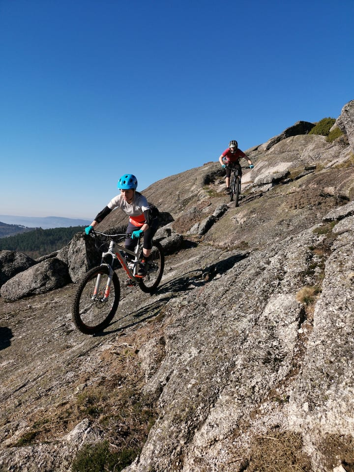 Ride Massive Granite Rocks