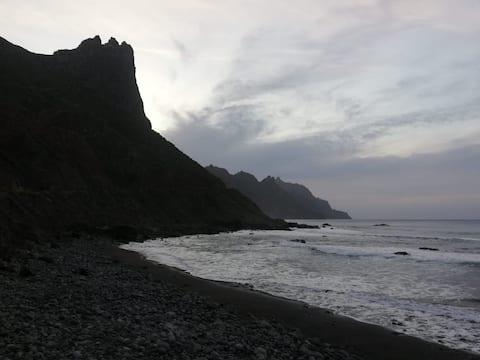 Apartamento. Nai. Playa del Roque (Anaga).