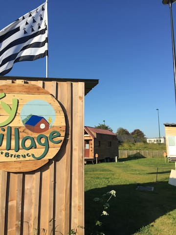 Premier village français de tiny houses