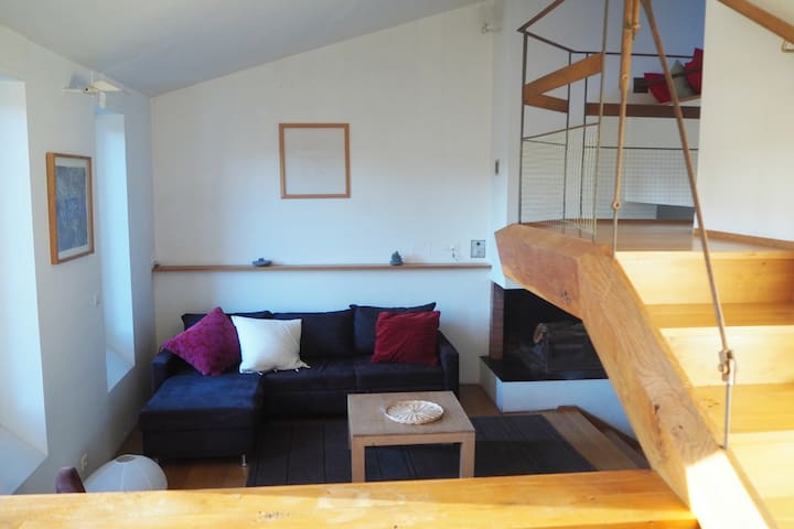 APPARTEMENT TYPE LOFT EN DUPLEX