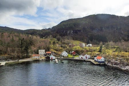 Stort hus ved sjøen - Suldal - Cabana