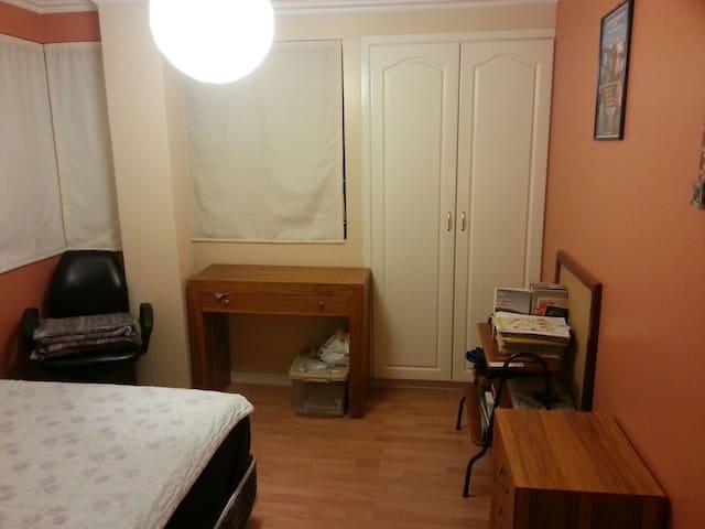 Cuarto privado con cama matrimonial - Ibarra