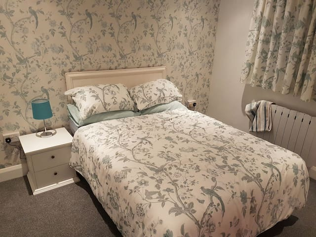 Double/twin room at the Dalby Rooms