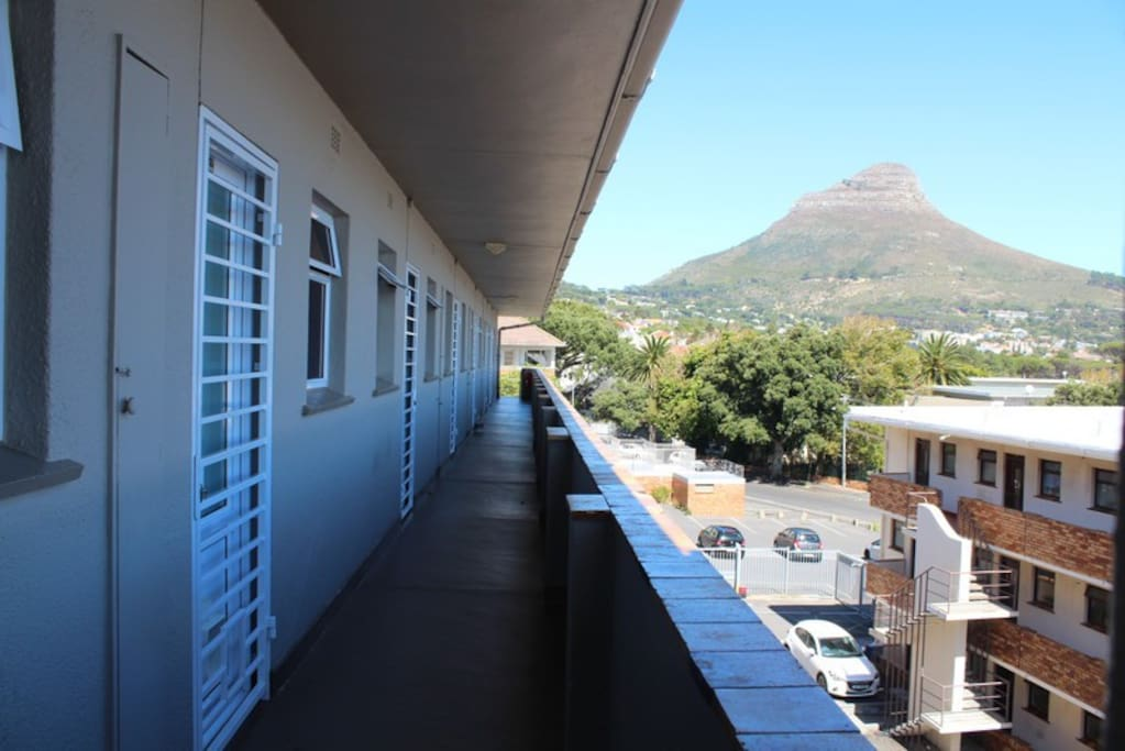 Spectacular views of Lions Head from your front door.