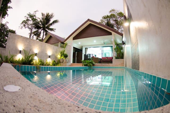 The Elegance Pool Villas @ KP Beach - Lily Villa