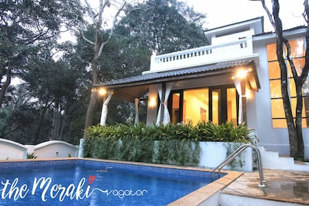 Meraki, 4 Bed Private Pool Villa near Vagator - Vagator