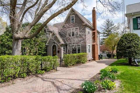 Downtown Adorable Tudor Home