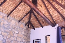 Beautiful Mexican styled Palm fawn roof. With the amazing view you will not find anything like this.