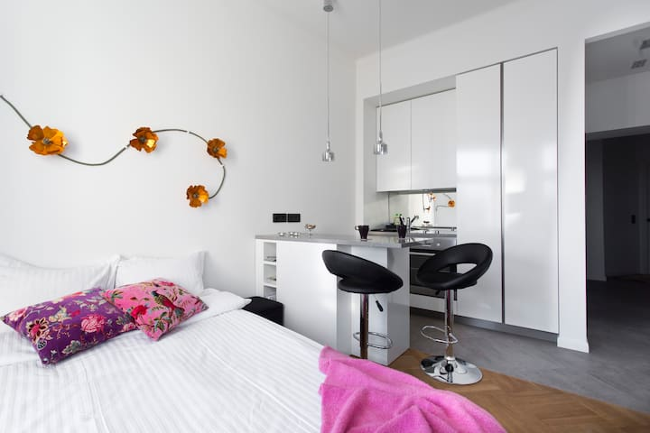 Stylish studio in the centre - Helsinki - Apartament