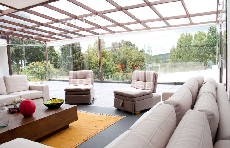 Hermosa Casa finca en Subachoque - Subachoque - Huvila