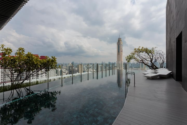 1BR near BTS, Platinum*free pick up - Bangkok - Condominium