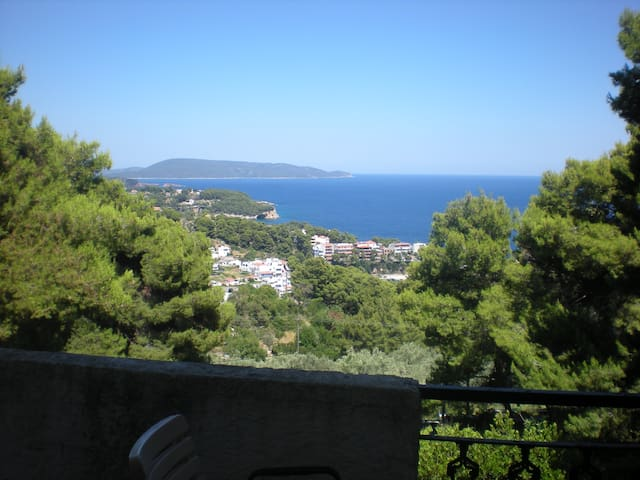 Alonissos, magnificent view & location (1st floor) - Alonnisos - Byt
