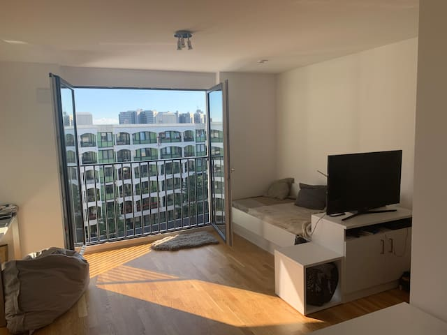 Light filled Apartment for Short Term Stay