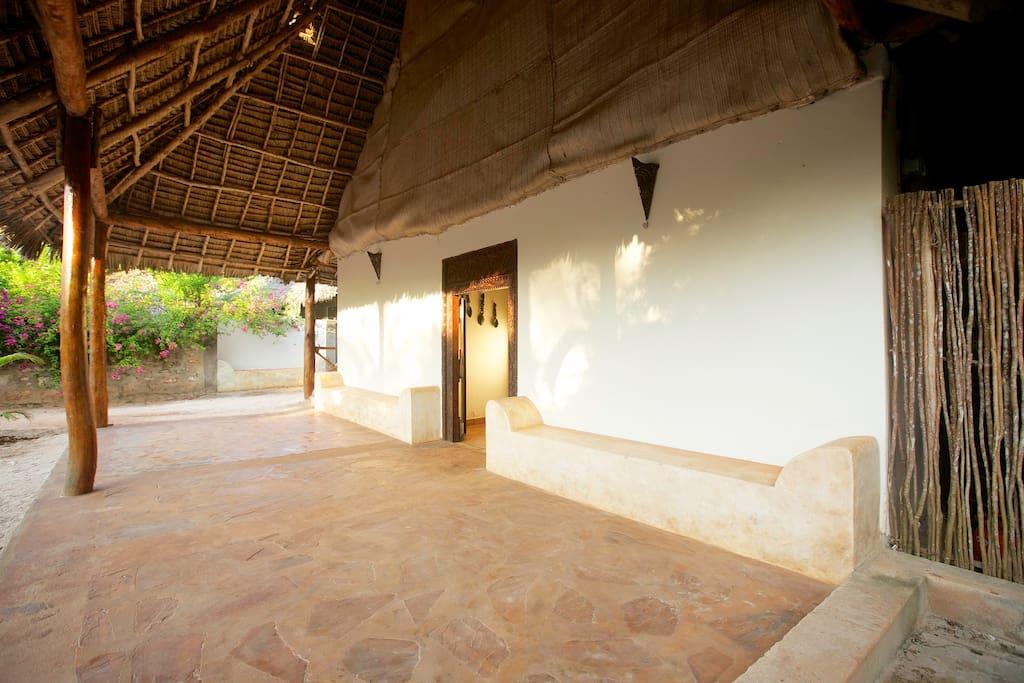 Tamani Villas entrance