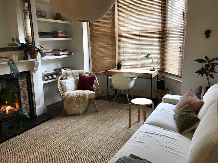 Stylish and quiet garden flat in Brixton
