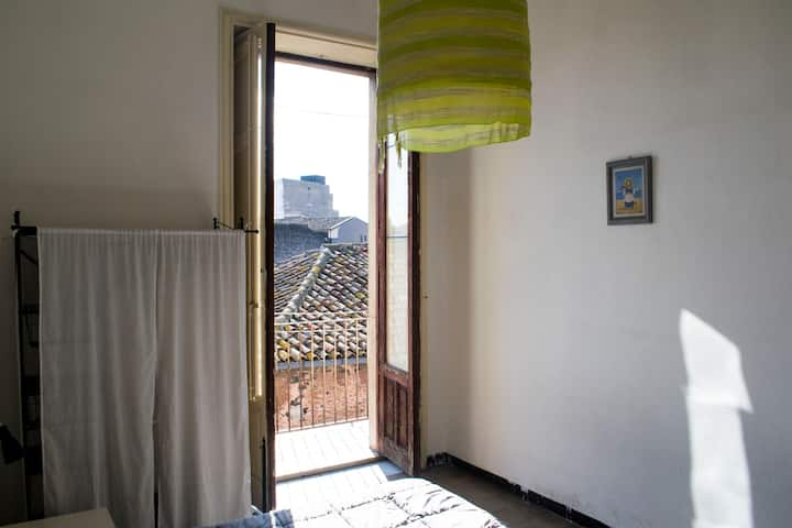 Colapesce - Twin Double room in Catania Center