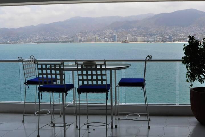 balcón donde el desayuno es mejor!