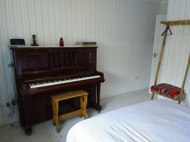 The Piano Room.