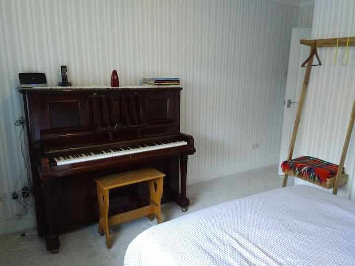 The Piano Room.