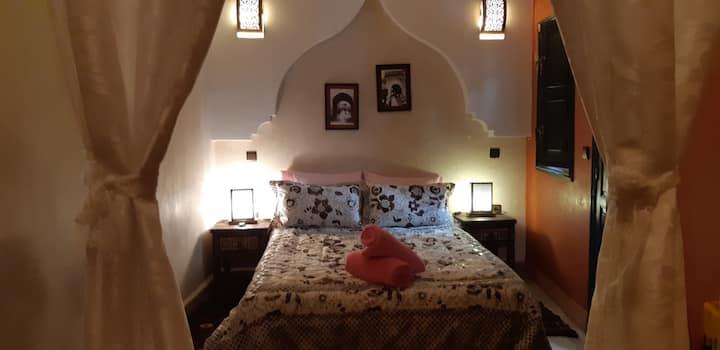 La Chambre ERRAHA à Riad Simon Marrakech