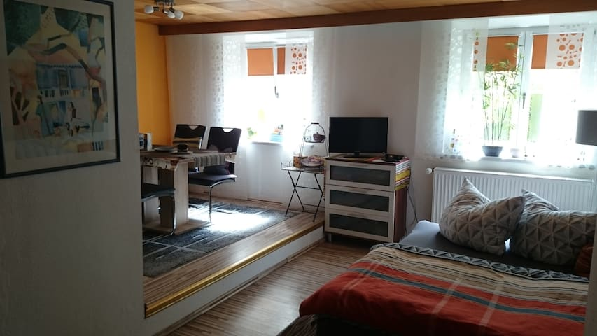 Lovely Apartment on the river Salzach - Laufen - Apartamento
