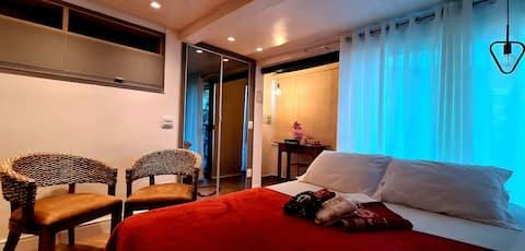 Studio c/Hidromassagem-150mt praia  Joao Fernandes
