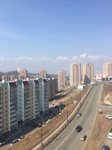 Большая, светлая,уютная квартира на Анна Щетининой - Vladivostok - Appartement