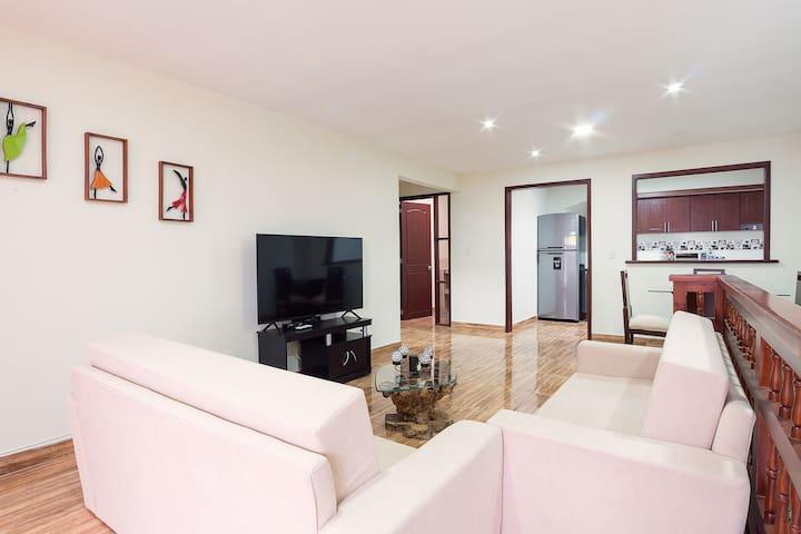 comodo apartamento, 3 habitaciones la Masia.