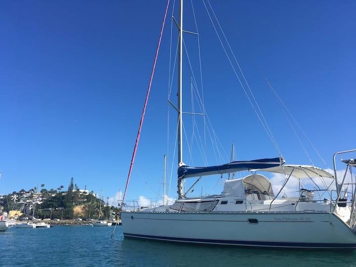 Tourmaline Boat 1 (couples/familles)