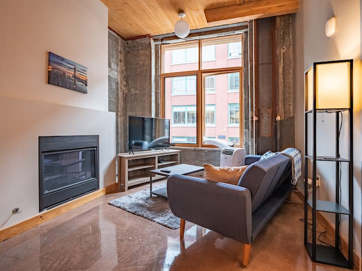 2B/2B Downtown Tacoma Loft | Fit for long stays